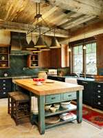 25++ Awesome Rustic Kitchen Island Ideas to Try This 2020