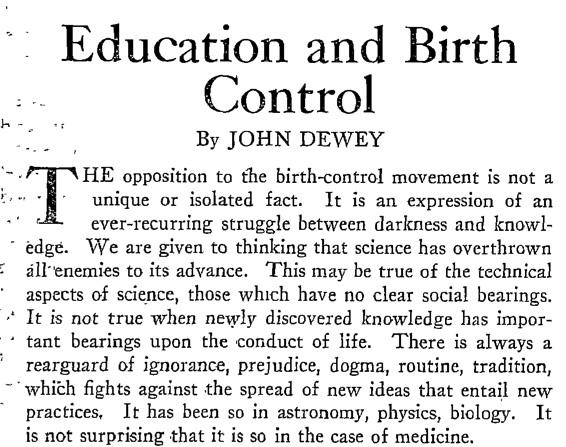 Birth control essay