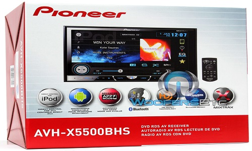 Pioneer AVH in Box Packaging - Google Images