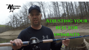 Adjusting your reel for swimbaits