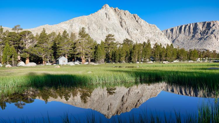 A lake in Inyo National Forest
