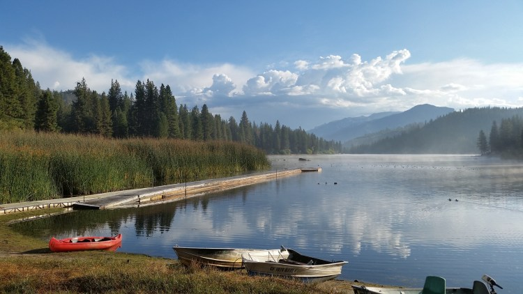 Hume Lake in Sequoia National Forest