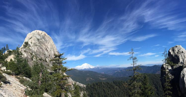 Mountains in Shasta-Trinity National Forest