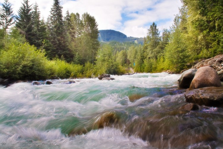 Time lapse of whitewater, something San Isabel National Forest has plenty of.