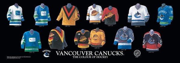 cheaper bf388 008cb Canucks looked at dusting off the 90s flying skate jersey ...