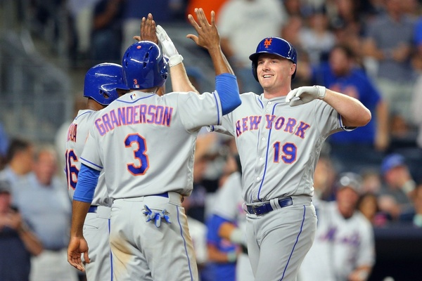 Curtis Granderson and Jay Bruce