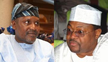 Image result for dangote, adenuga photo