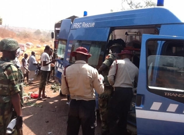 Image result for How FRSC rescued pregnant woman from kidnappers