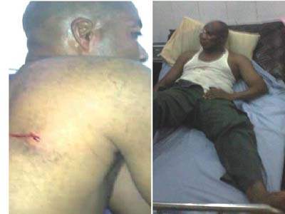 odubu-security Photo: Edo state deputy Governor escapes death in Auchi