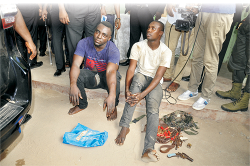 Image result for Delta Police Command arrest Fulani kidnapping kingpin