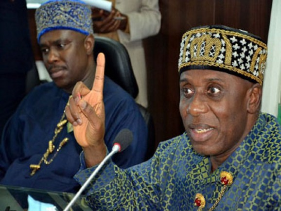 RIVERS RE-RUN: We'll match  Wike threat  for threat,  Amaechi  vows