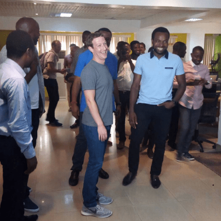 Image result for zuckerberg visits Nigeria