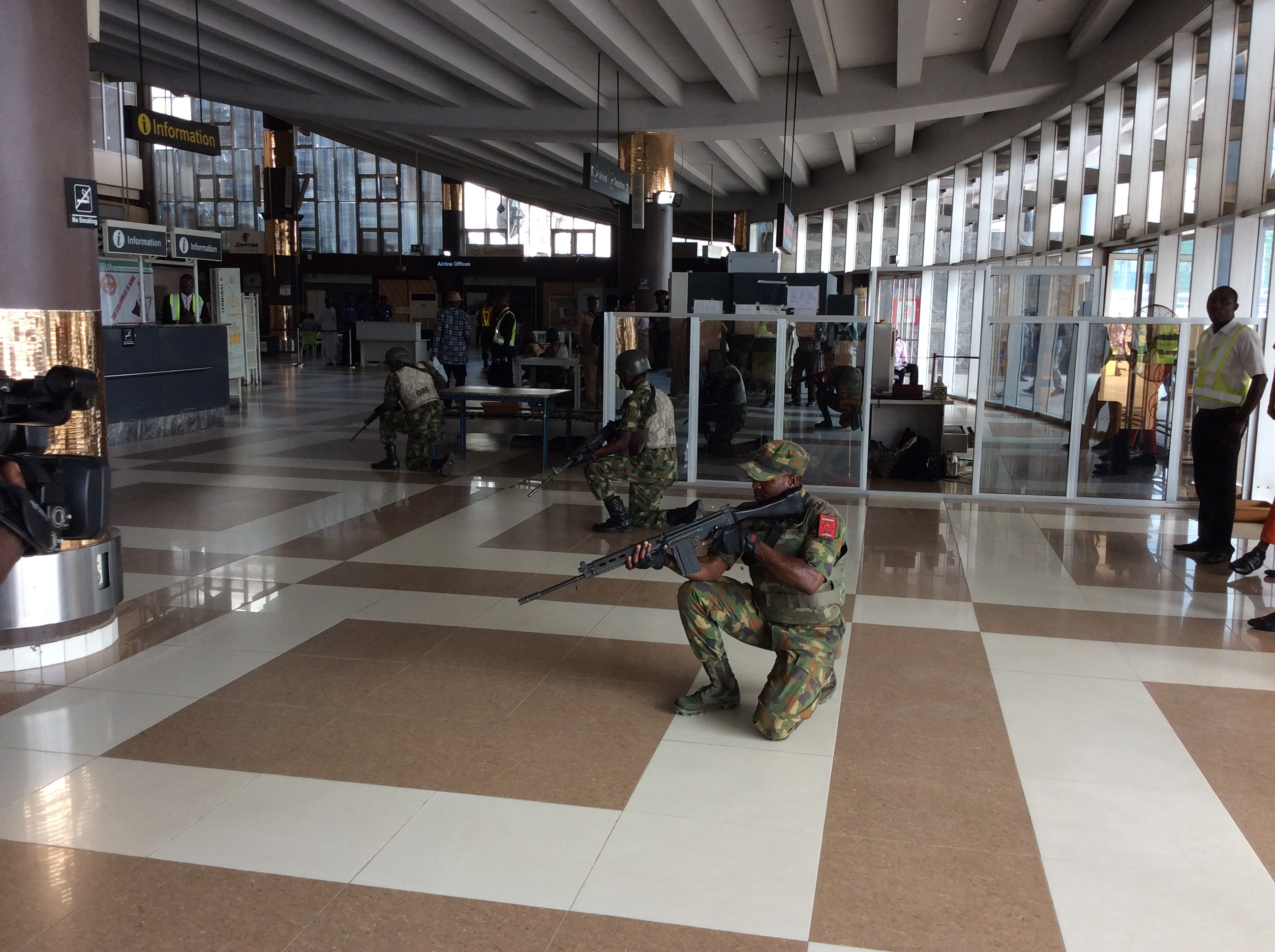 How we will respond to airport terrorism- NAF