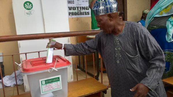 Photo: Voting commences in Edo