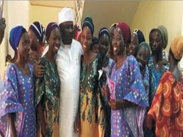 Chibok girls  reunite with  families