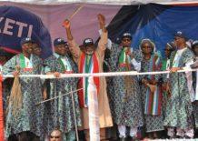 Image result for Ondo APC primary transparent - Buhari