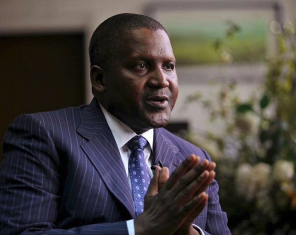 Dangote, Adenuga, Alakija, seven others on richest list