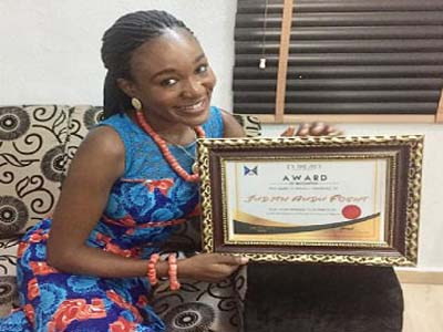 Judith Audu honoured in Benin