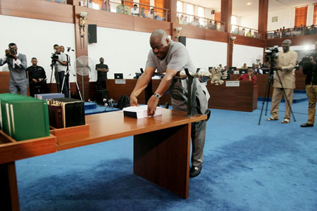 Wike presents N470b Golden Jubilee budget to Assembly