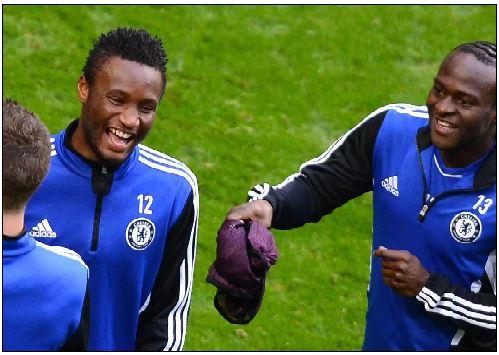 TIANJIN TEDA MOVE: Mikel bids Chelsea goodbye