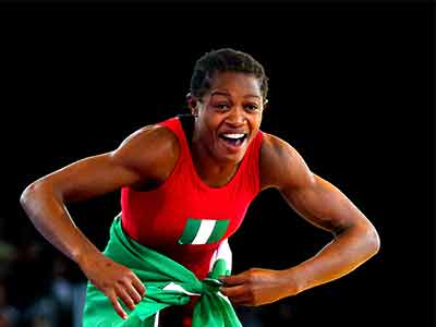Nigeria's Adekuoroye resumes wrestling league with a bang