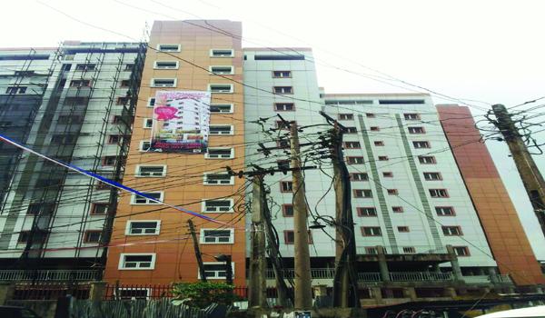 11-storey Isale-Gangan Towers, Gardens ready