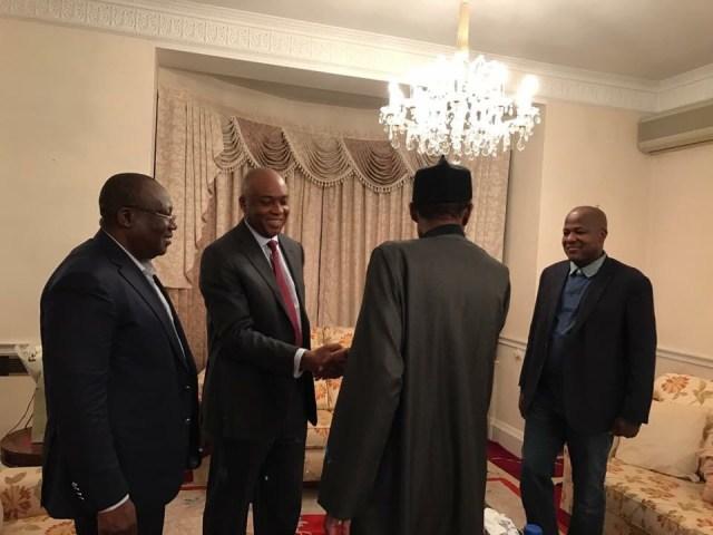 Résultats de recherche d'images pour «Buhari is healthy, no cause for alarm , says Saraki»