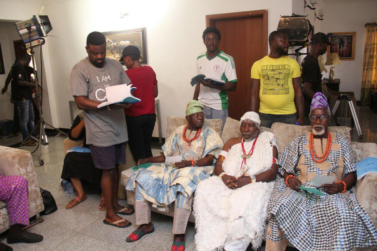 Feud over: Kunle Afolayan reconciles veteran Yoruba actors