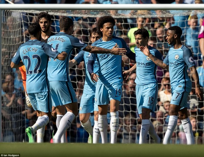 Iheanacho gets 17 minutes as Man City returns