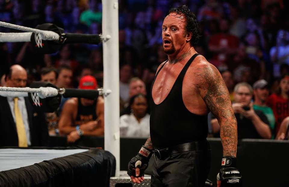 End of an era, as Undertaker retires