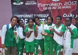 Image result for Ighali hails Nigerian Wrestling team after winning eight gold medals