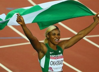 Image result for Okagbare, Amusan arrive in Nigeria for Warri Relays