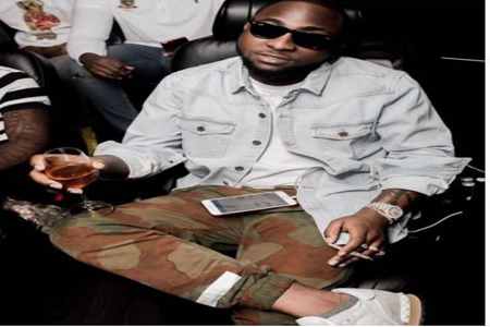 Image result for Davido captioned the post, 'FEARLESS.'