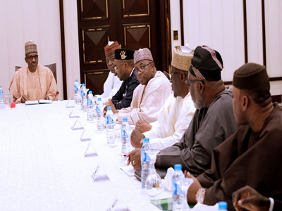 "Image result for How can you sleep soundly when workers are unpaid?"" – Buhari frowns at state governors inability to pay workers"