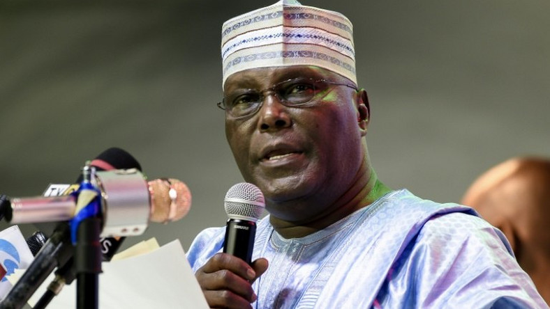 Image result for Atiku: EFCC detaining my son-in-law, lawyer for supporting me