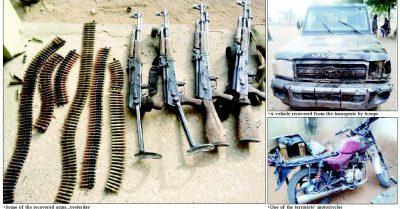 Troops neutralise five Boko Haram terrorists in Yobe