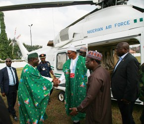Image result for Buhari takes 'next level' campaign to Ekiti, Ondo