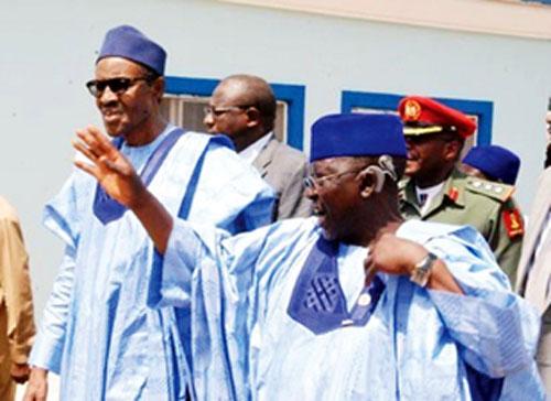 Image result for Tanko Al-Makura and Buhari