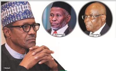 Why Buhari is yet to act on NJC's recommendation