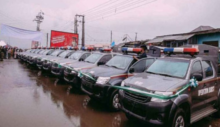 Oyo Security Trust Fund hands over 10 vans, firefighting equipment, others