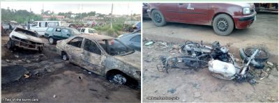 How reckless driver caused  Ibadan tanker fire