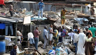 Oshodi building collapse