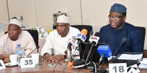 Photos: Govs meet development partners in Abuja