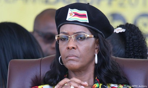 Grace Mugabe 'll keep her fortune, says Zimbabwe president