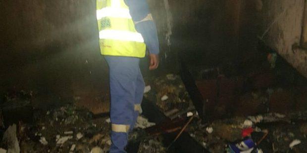 Lagos fire raze