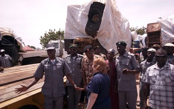 Nigeria returns seized America's mine-resistant vehicles