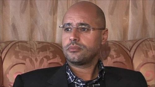Gaddafi's son has right to run for president, says Libya's army chief