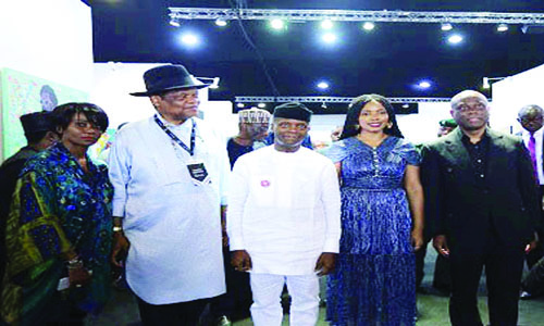 Wigwe: Art X Lagos project lifting local talents - The Nation Newspaper