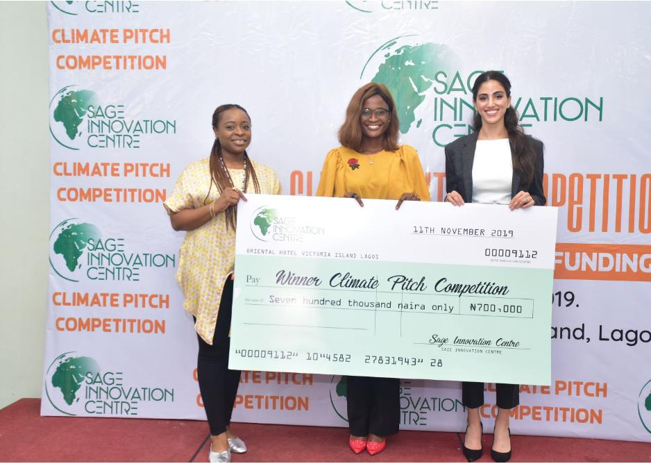 ICCDI, Bio-Stark Green Solutions emerge winners of Sage Climate Pitch Competition