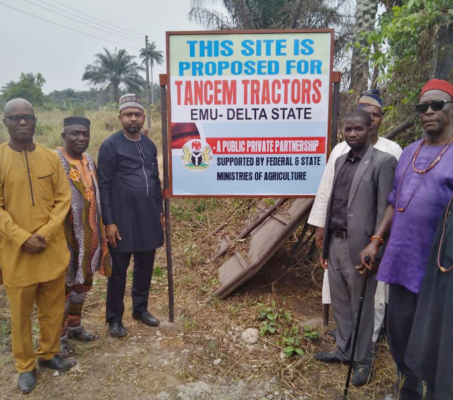 Tancem Nigeria commences N7b tractor assembling plant in Delta